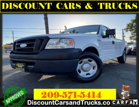 2007 Ford F-150 for sale at Discount Cars & Trucks in Modesto CA
