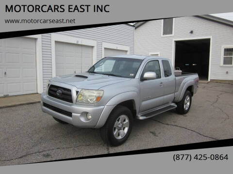 2006 Toyota Tacoma for sale at MOTORCARS EAST INC in Derry NH