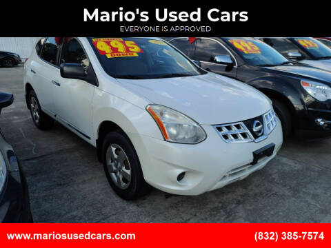 2011 Nissan Rogue for sale at Mario's Used Cars - South Houston Location in South Houston TX