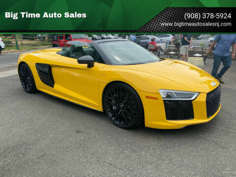 2018 Audi R8 for sale at Big Time Auto Sales in Vauxhall NJ