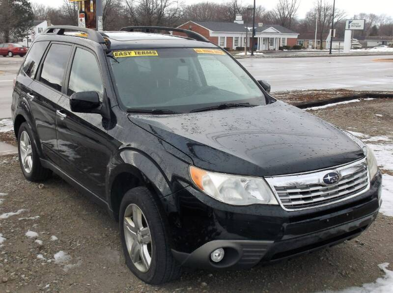 2009 Subaru Forester for sale at We Finance Inc in Green Bay WI