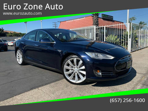 2013 Tesla Model S for sale at Euro Zone Auto in Stanton CA