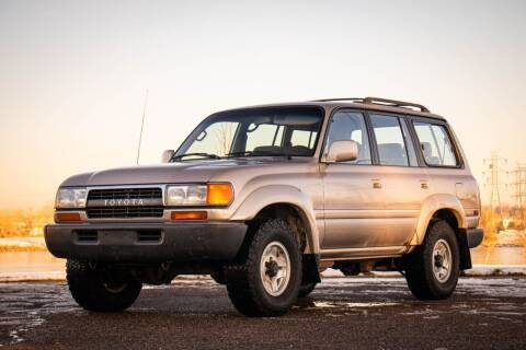1992 Toyota Land Cruiser for sale at Classic Investments in Englewood CO