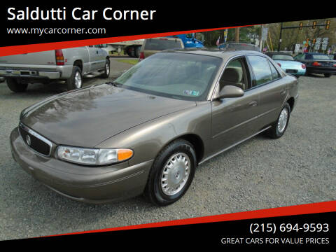 2005 Buick Century for sale at Saldutti Car Corner in Gilbertsville PA