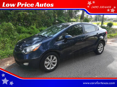 2012 Kia Rio for sale at Low Price Autos in Beaumont TX
