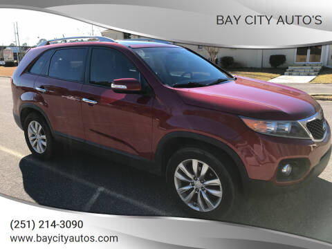 2011 Kia Sorento for sale at Bay City Auto's in Mobile AL