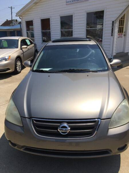 2002 Nissan Altima for sale at New Rides in Portsmouth OH