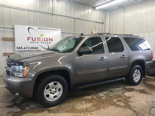 2011 Chevrolet Suburban for sale at FUSION AUTO SALES in Spencerport NY