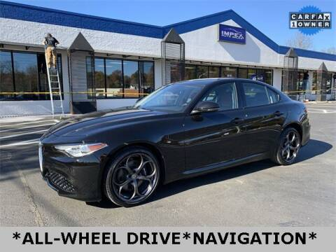 2017 Alfa Romeo Giulia for sale at Impex Auto Sales in Greensboro NC