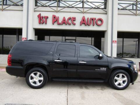 2013 Chevrolet Suburban for sale at First Place Auto Ctr Inc in Watauga TX