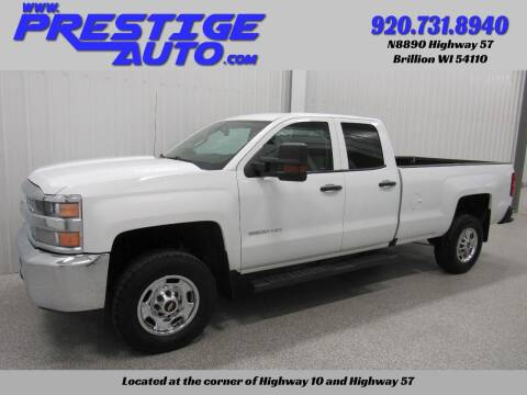 2019 Chevrolet Silverado 2500HD for sale at Prestige Auto Sales in Brillion WI