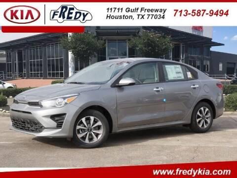 2021 Kia Rio for sale at FREDY KIA USED CARS in Houston TX