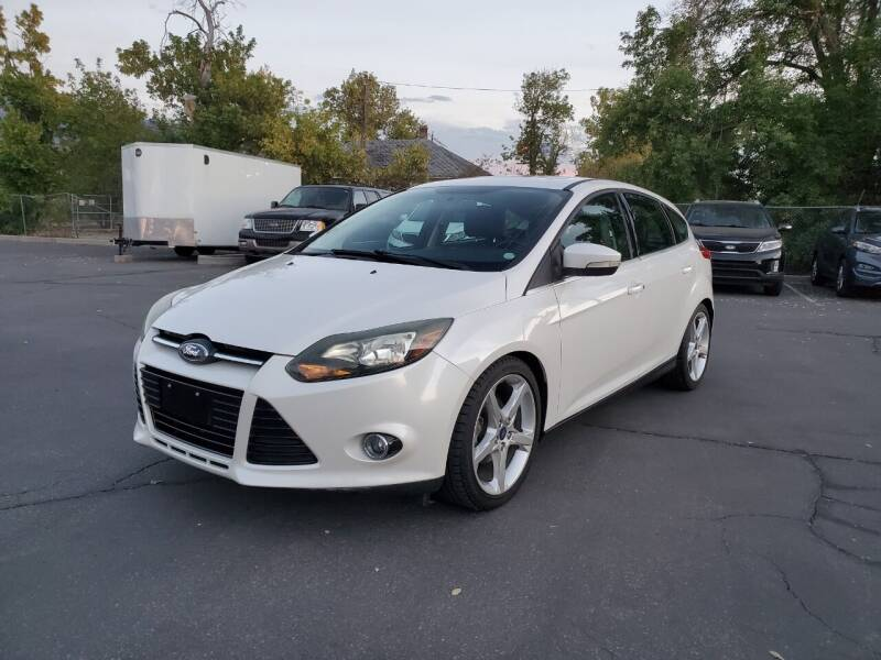 2014 Ford Focus for sale at UTAH AUTO EXCHANGE INC in Midvale UT