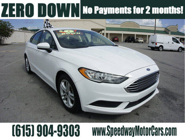 2018 Ford Fusion for sale at Speedway Motors in Murfreesboro TN