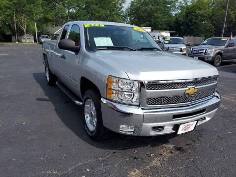 2012 Chevrolet Silverado 1500 for sale at Stach Auto in Janesville WI