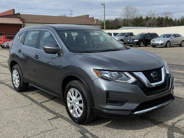 2018 Nissan Rogue for sale at Miller Auto Sales in Saint Louis MI