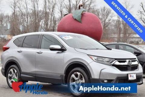 2018 Honda CR-V for sale at APPLE HONDA in Riverhead NY