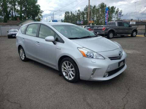 2012 Toyota Prius v for sale at Universal Auto Inc in Salem OR