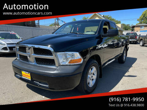 2010 Dodge Ram Pickup 1500 for sale at Automotion in Roseville CA