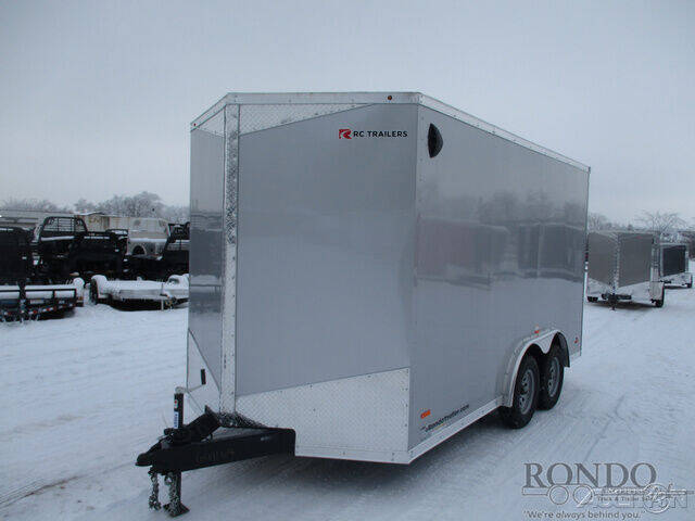 2021 RC Trailers Enclosed Cargo RDLX 7X14TA2 for sale at Rondo Truck & Trailer in Sycamore IL
