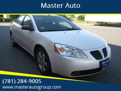 2009 Pontiac G6 for sale at Master Auto in Revere MA