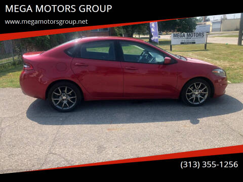 2013 Dodge Dart for sale at MEGA MOTORS GROUP in Redford MI