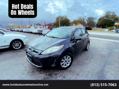 2011 Ford Fiesta for sale at Hot Deals On Wheels in Tampa FL