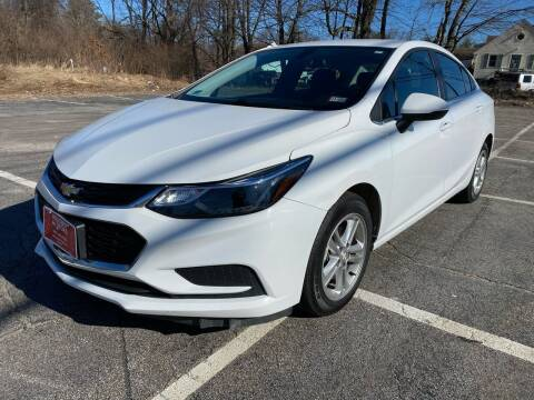 2017 Chevrolet Cruze for sale at Hillcrest Motors in Derry NH