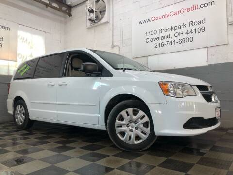 2016 Dodge Grand Caravan for sale at County Car Credit in Cleveland OH