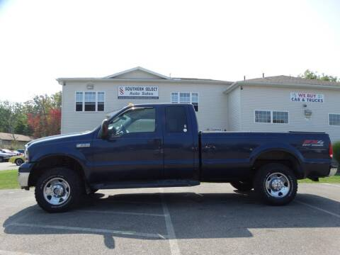 2006 Ford F-250 Super Duty for sale at SOUTHERN SELECT AUTO SALES in Medina OH