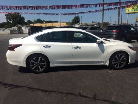 2017 Nissan Altima for sale at Kenny's Auto Sales Inc. in Lowell NC