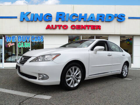 2011 Lexus ES 350 for sale at KING RICHARDS AUTO CENTER in East Providence RI