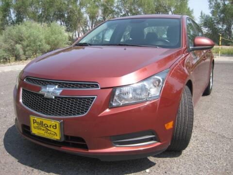 2013 Chevrolet Cruze for sale at Pollard Brothers Motors in Montrose CO