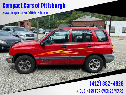 2000 Chevrolet Tracker for sale at Compact Cars of Pittsburgh in Pittsburgh PA