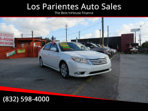 2011 Toyota Avalon for sale at Los Parientes Auto Sales in Houston TX
