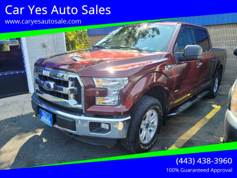 2016 Ford F-150 for sale at Car Yes Auto Sales in Baltimore MD
