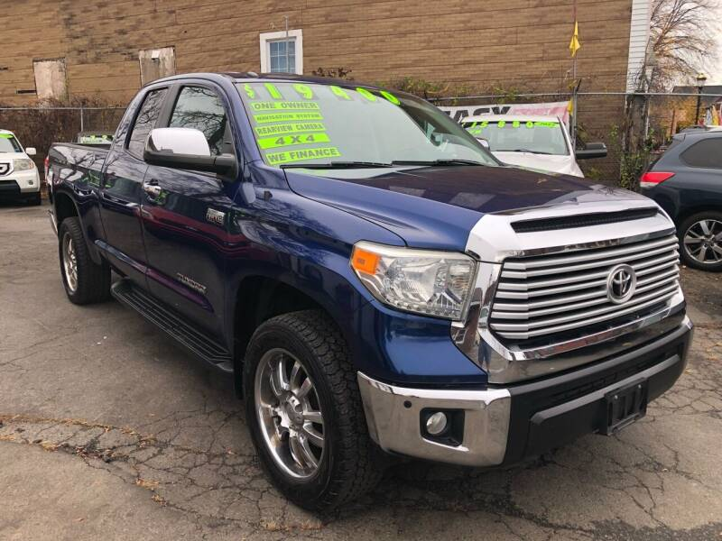 2014 Toyota Tundra for sale at James Motor Cars in Hartford CT