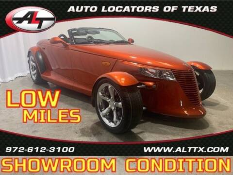 2001 Plymouth Prowler for sale at AUTO LOCATORS OF TEXAS in Plano TX