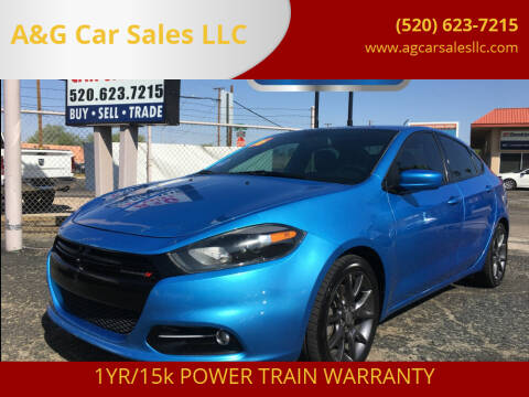 2016 Dodge Dart for sale at A&G Car Sales  LLC in Tucson AZ