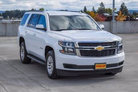 2018 Chevrolet Tahoe for sale at Washington Auto Credit in Puyallup WA