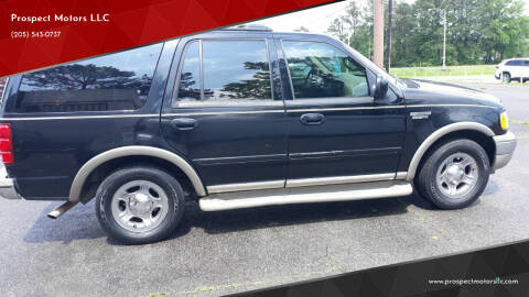 2002 Ford Expedition for sale at Prospect Motors LLC in Adamsville AL
