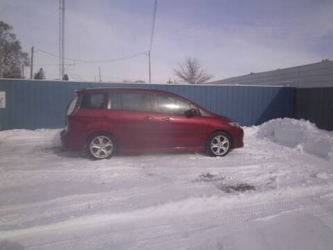 2010 Mazda MAZDA5 for sale at MITRISIN MOTORS INC in Oskaloosa IA