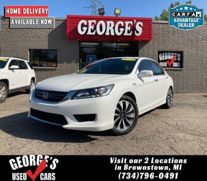 2015 Honda Accord Hybrid for sale at George's Used Cars - Pennsylvania & Allen in Brownstown MI