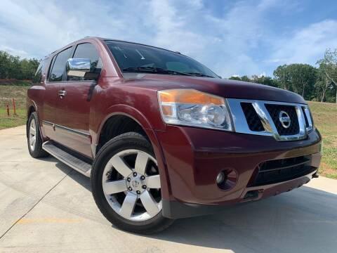 2010 Nissan Armada for sale at El Camino Auto Sales in Sugar Hill GA