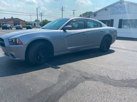 2014 Dodge Charger for sale at Thunder Auto Sales in Springfield IL