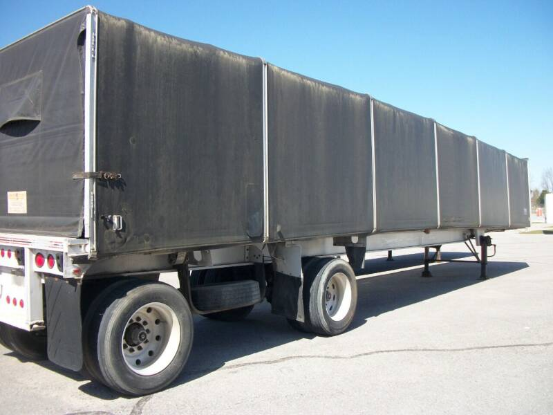 1994 Merlot Curtain Side Trailer for sale at Classics Truck and Equipment Sales in Cadiz KY