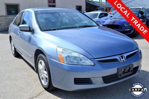 2007 Honda Accord for sale at LAKESIDE MOTORS, INC. in Sachse TX