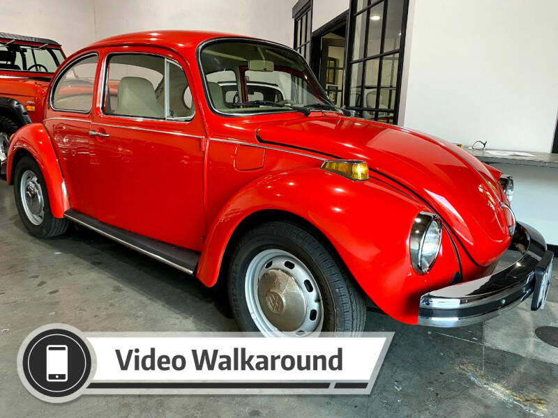 1974 Volkswagen Beetle for sale at Dan Reed Autos in Escondido CA