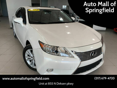 2014 Lexus ES 350 for sale at Auto Mall of Springfield north in Springfield IL
