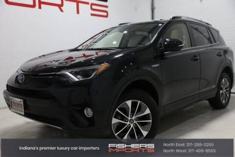 2018 Toyota RAV4 Hybrid for sale at Fishers Imports in Fishers IN